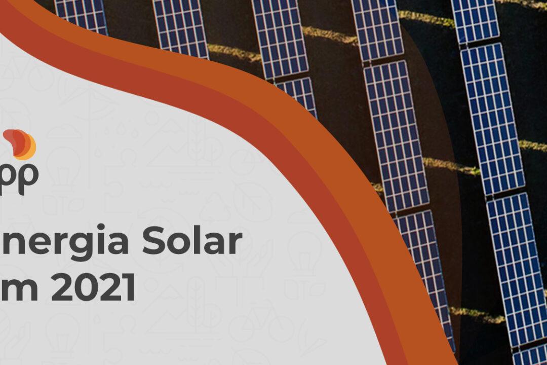 Expansão no setor de energia solar em 2021!