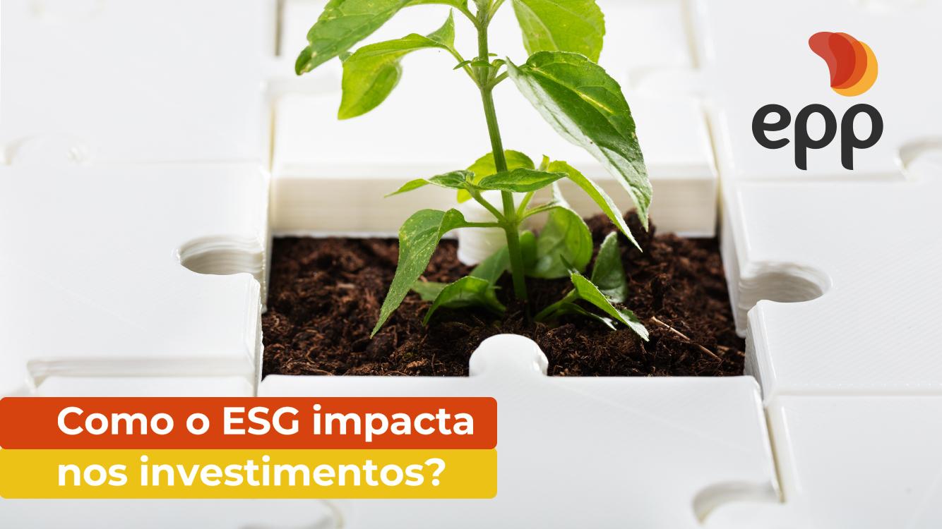 Como o ESG impacta os investimentos?